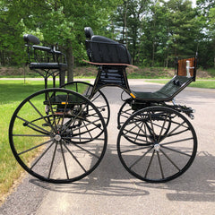 Spider Phaeton Presentation Carriage | Midwest Custom Carriages