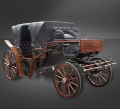 Vis a Vis | Midwest Custom Carriages