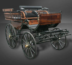 Wagonetta Presentation Carriage | Midwest Custom Carriages