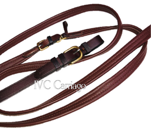 Bowman Ultimate Leather Carriage Reins | IVC Carriage