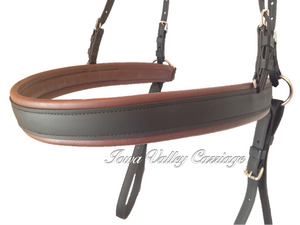 IVC Traditional Synthetic Horse Harness Breeching