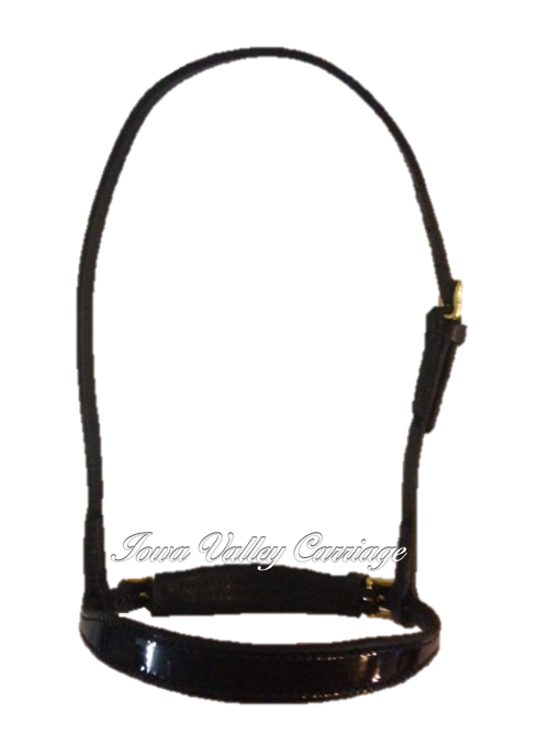 Patent Leather Noseband