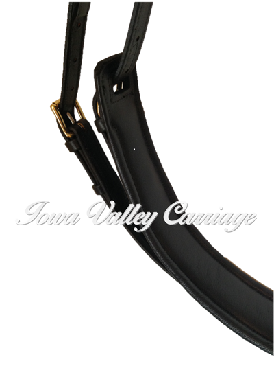 Leather Elite Padded Horse Harness Girth