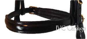 Leather Elite Horse Harness Noseband