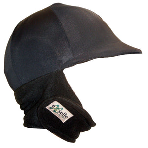 Winter Equestrian Helmet Cover