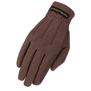 Heritage Brown Power Grip Gloves
