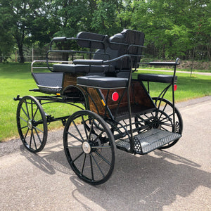 Max I Pass Thru Carriage | Midwest Custom Carriages