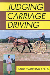 Judging Carriage Driving Horse Book