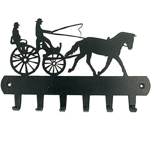 Driving Horse Key Rack