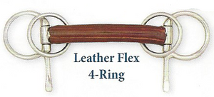 Bowman Leather Flex Wilson Snaffle