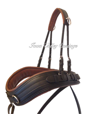 Mid V Synthetic Horse Harness Breast Collar