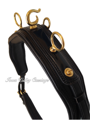 IVC Enhanced Leather Harness Saddle