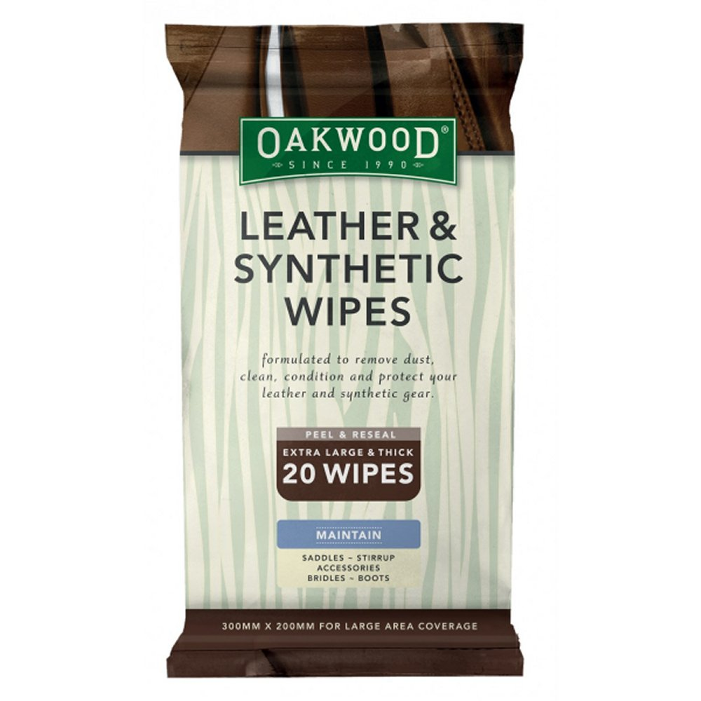 Oakwood Leather and Synthetic Wipes