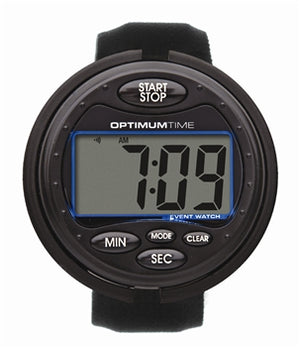 Optimum Time Eventing Watch - Black
