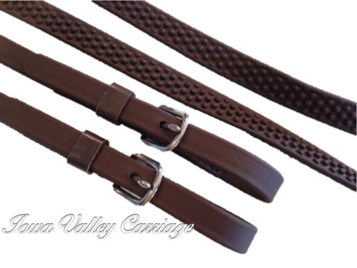 IVC Pebble Grip Driving Reins