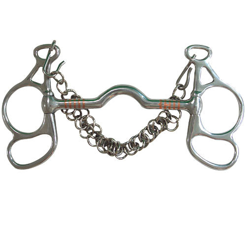 Low Port Butterfly Horse Bit
