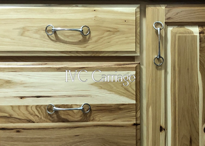 Snaffle Bit Drawer Pull | IVC Carriage