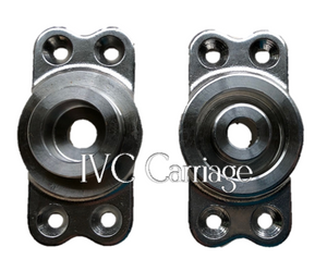 Stainless Singletree Casters | IVC Carriage