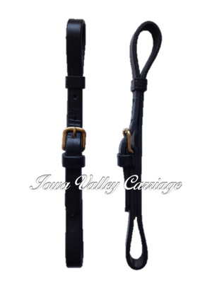 Leather Harness Trace Carriers