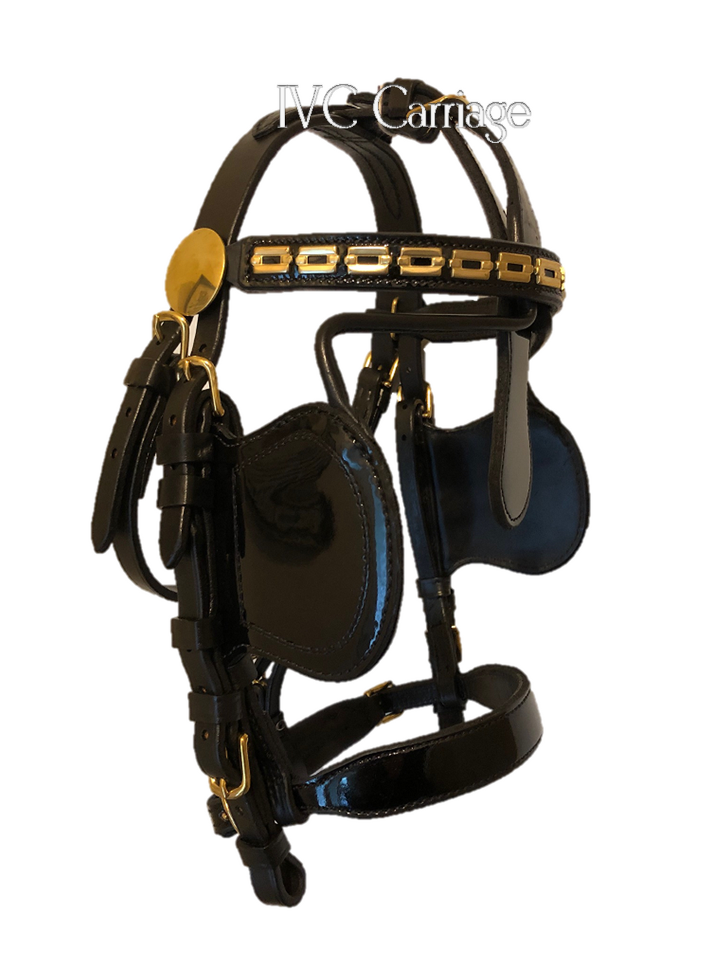 IVC Traditional Leather Pony Bridle