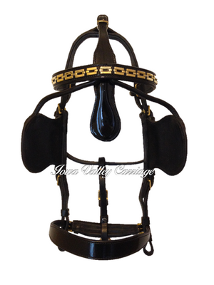 Traditional Leather Harness Bridle