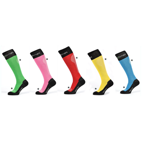TECH STIRRUPS Skarpety Breathable Rainbow