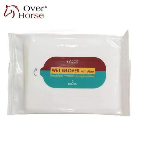 OVER HORSE Wet Gloves - rękawice z aloesem
