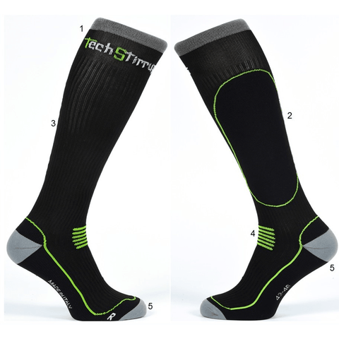 TECH STIRRUPS Skarpety Technical