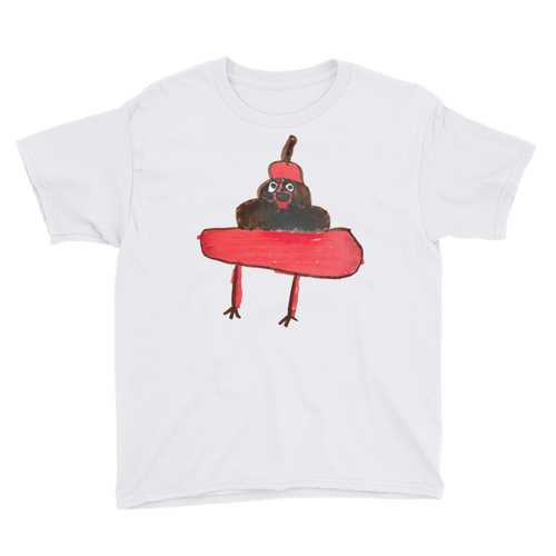 Evil Poo Youth Tee