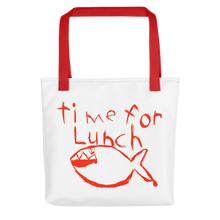 Load image into Gallery viewer, Time for Lunch Tote