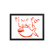Load image into Gallery viewer, Time for Lunch Framed Print