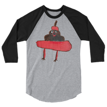 Load image into Gallery viewer, Evil Poo Baseball Tee