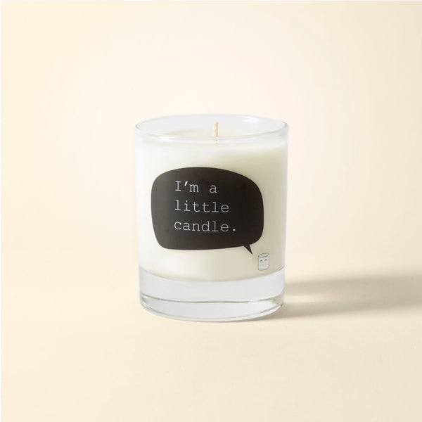 Oak & tobacco soy wax candle - I'm a little candle