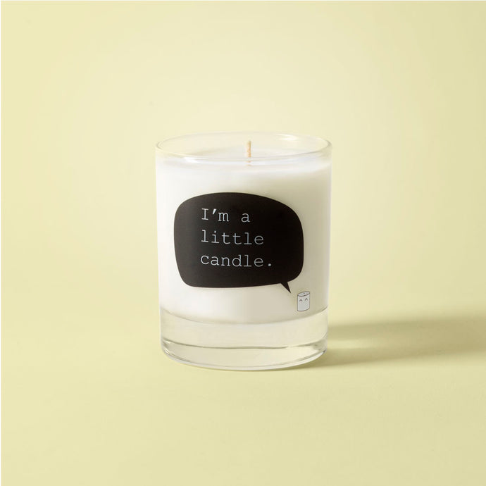 Lemongrass & ginger soy wax candle - I'm a little candle