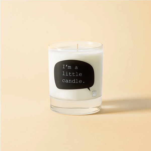 Spicy pumpkin soy wax candle - I'm a little candle
