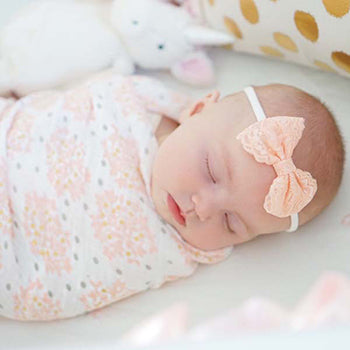 Heavenly Floral Swaddle