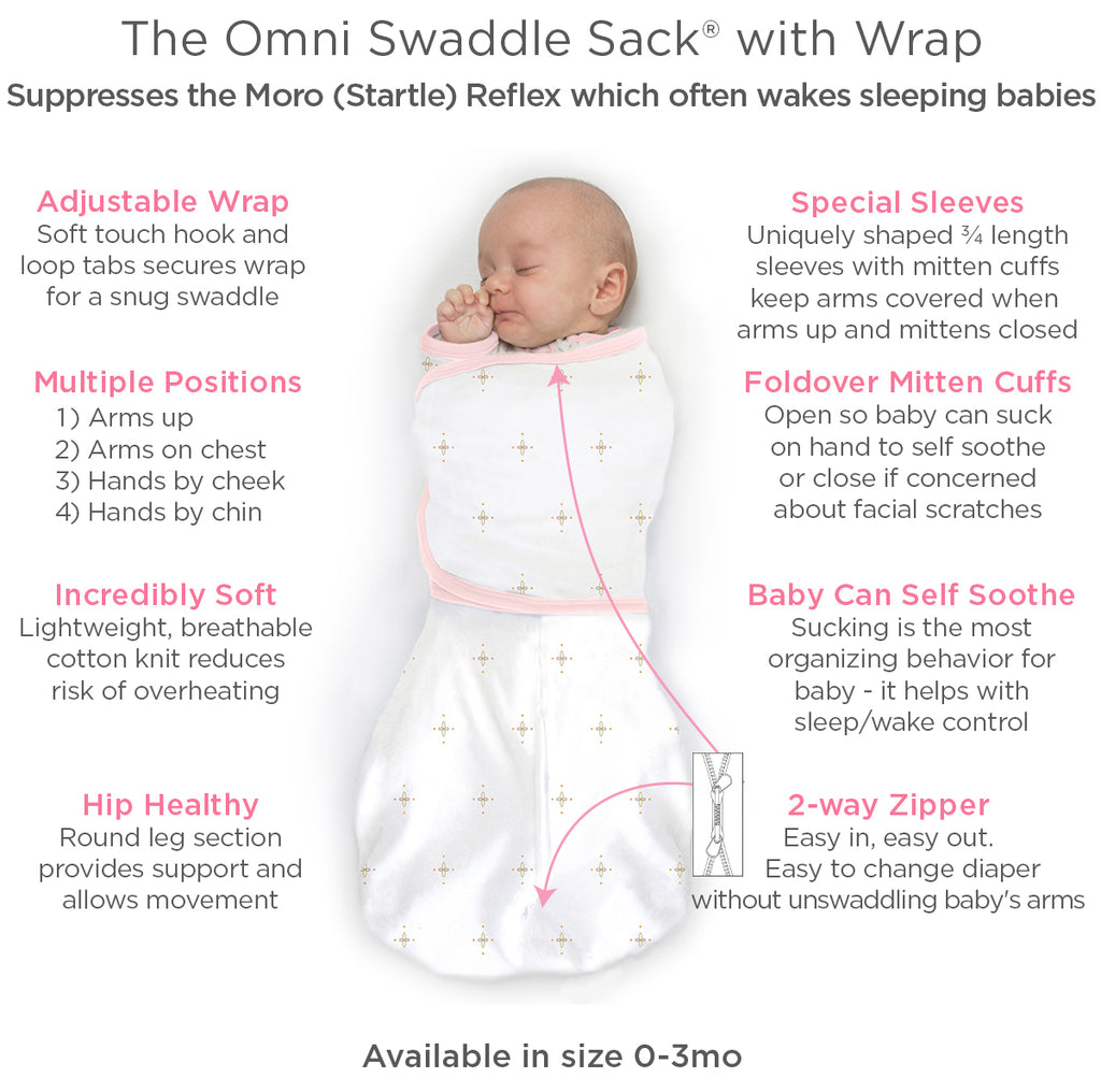 omni swaddle sack info square
