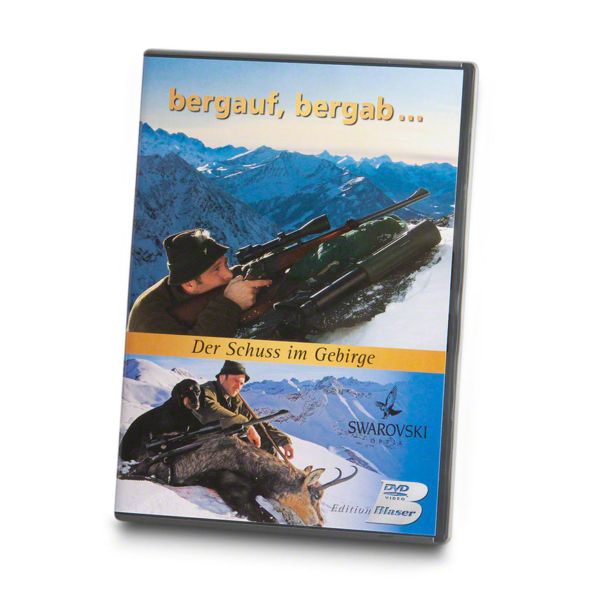 BLASER DVD 'Uphill, downhill, shooting in the mountains'