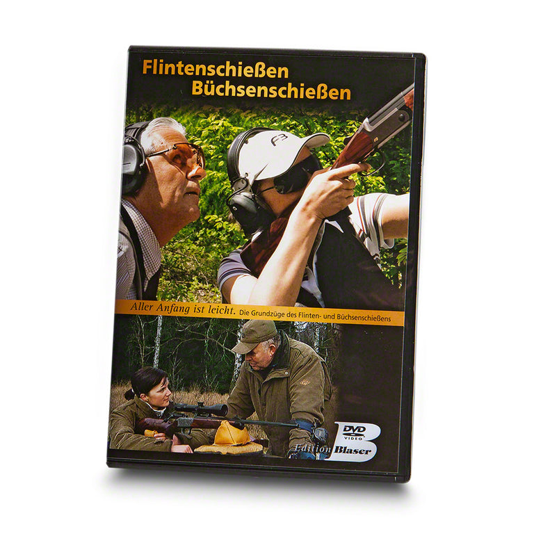 BLASER DVD 'Shooting shotguns and rifles - easier than you think'