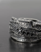 Load image into Gallery viewer, LATHAR-PAVE-DIAMONDS-RING