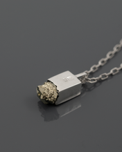 Load image into Gallery viewer, artisan PYRITE PENDANT