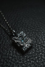 Load image into Gallery viewer, WAVR-BLUE-DIAMOND-PENDANT