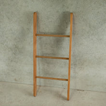 Load image into Gallery viewer, Blanket Ladder – Reclaimed Rimu