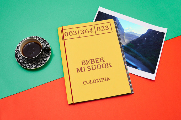 Beber Mi Sudor: Coffee Colombia - Photobook & Print