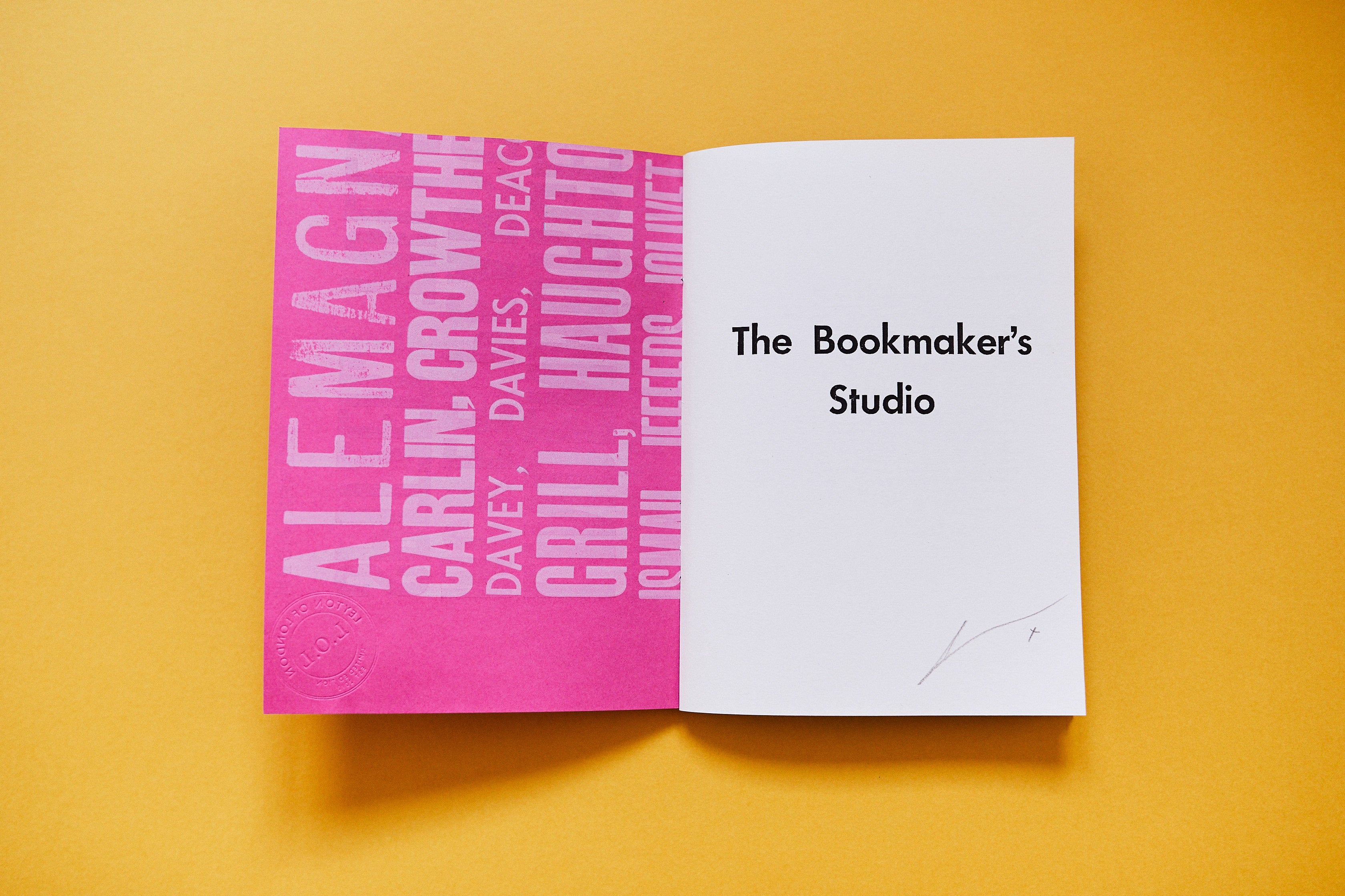 The Bookmaker's Studio - Abridged A5 Edition - Signed