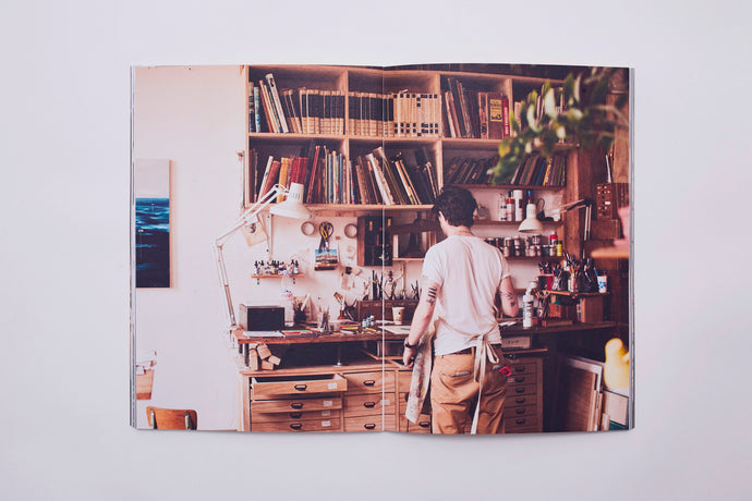 'The Bookmaker's Studio' Photo Book Limited Edition