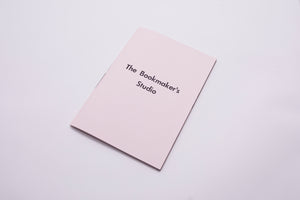 The Bookmakers Studio – very limited edition photobook