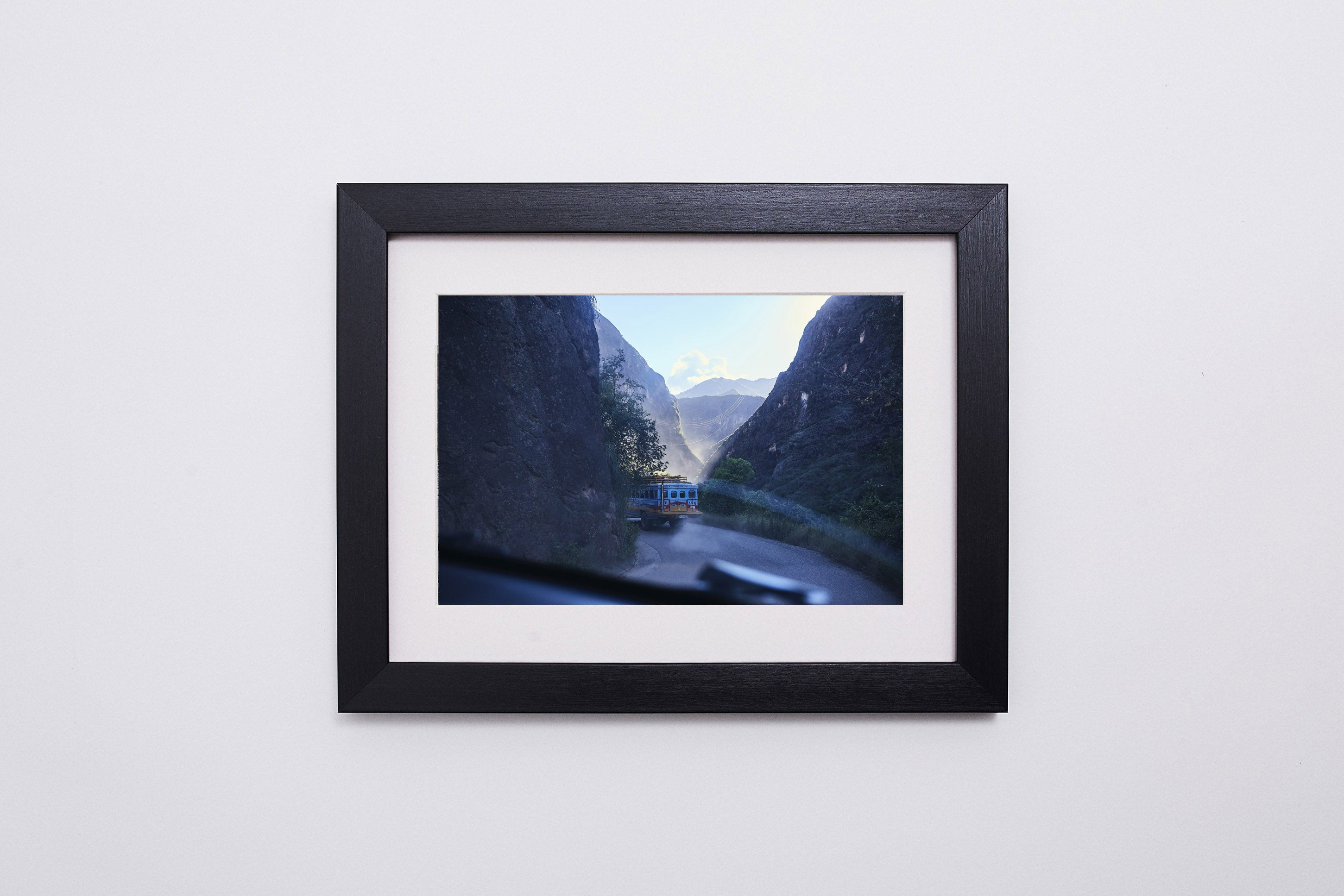 Road Through the Mountains. - 10X8