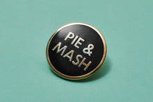 Load image into Gallery viewer, Pie & Mash Enamel Pin Badges
