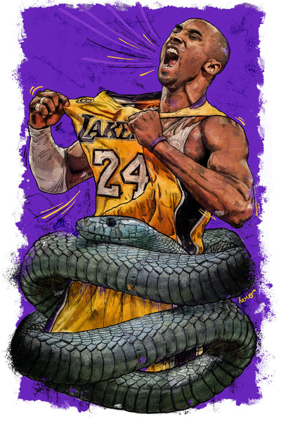 Tee-Shirt Bella + Canvas  Kobe Bryant The Black Mamba Design By Hero eco-friendly
